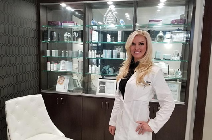 Skin Cancer + Cosmetics. Kristy Fleming, MD, FAAD